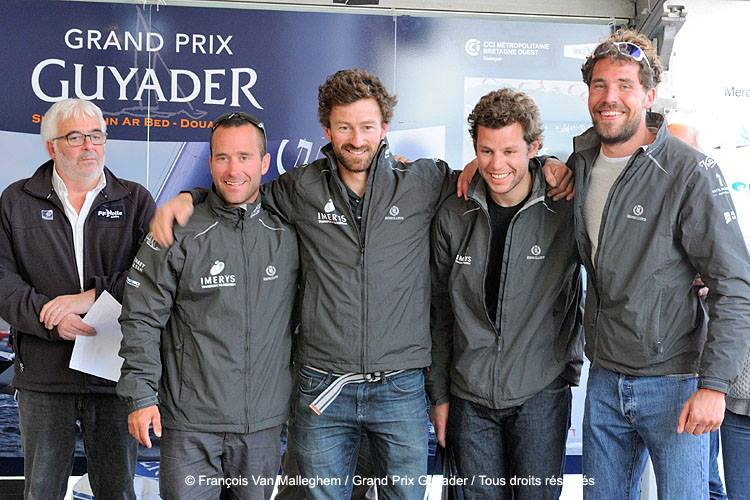 podium GP Guyader