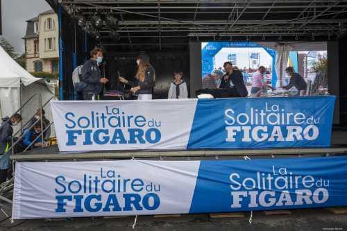 DEPART DE LA SOLITAIRE DU FIGARO 2020 - SAINT QUAI PORTRIEUX